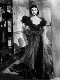 Vivien Leigh in Elegant Black Gown Photo by  Movie Star News