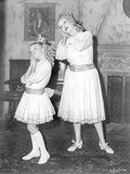Whatever Happened To Baby Jane Girl and Old Woman in the Same Pose Photo by  Movie Star News