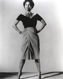 Dorothy Dandridge Posed in Classic Hands on Waist Photo by  Movie Star News