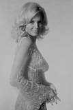 Angie Dickinson in Glitter Dress in Classic Portrait Photo by  Movie Star News