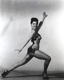 Debra Paget Dancing in Glossy Lingerie Photo by  Movie Star News