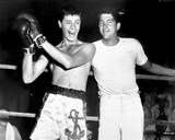 Dean Martin and Jerry Lewis Scene with a Man in a Boxing Attire and Coach Attire Photo by  Movie Star News