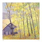 Barn at the Edge of the Woods Limited Edition by Ken Elliot