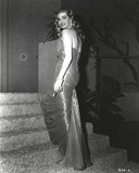 Anita Ekberg sitting in Classic Photo by  Movie Star News