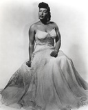 Billie Holiday in Wedding Gown Portrait Photo by  Movie Star News