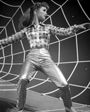 Debbie Reynolds Portrait in Checkered Top on a Spider Web Photo by  Movie Star News