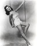 Debra Paget Black and White Portrait Photo af Movie Star News