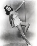 Debra Paget Black and White Portrait Photo by  Movie Star News