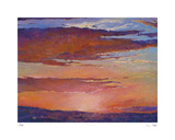 Sunset Pinks Limited Edition by Ken Elliot