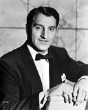 Danny Thomas Posed in Black Suit Photo by  Movie Star News