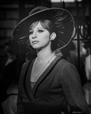 Barbra Streisand Portrait With Hat and Pearl Necklace Photo by  Movie Star News