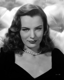 Ella Raines on a Necklace and Slightly smiling Portrait Photo by  Movie Star News