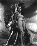 Debra Paget in Gown Black and White Photo by  Movie Star News