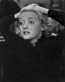 Bette Davis Portrait in White Wimple and Black Long Sleeve Tunic Photo by  Movie Star News