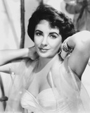 Elizabeth Taylor Posed in Dress Photo by  Movie Star News