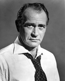Darren McGavin Posed in White Formal Shirt Photo by  Movie Star News