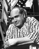 Danny Devito Posed in Black and White Photo by  Movie Star News