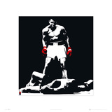 Muhammad Ali Liston Black Prints