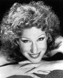 Bette Midler Portrait with Fingers Crossed and Chin Leaning on Hand Photo by  Movie Star News