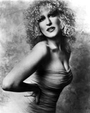 Bette Midler Portrait with Hands on the Waist Leaning Forward in Tube Dress Photo by  Movie Star News