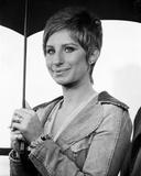 Barbra Streisand Portrait With Umbrella Photo by  Movie Star News