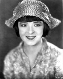 Colleen Moore on Printed Top and smiling Portrait Photo by  Movie Star News