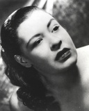 Billie Holiday with Dark lipsticks Close Up Portrait Photo by  Movie Star News