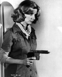 Blythe Danner Holding Pistol in Classic Photo by  Movie Star News