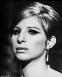 Barbra Streisand Close Up Portrait in Classic Photo by  Movie Star News