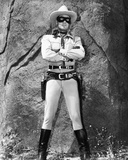 Clayton Moore Posed in Lone Ranger Attire- Photograph Print Photo by  Movie Star News