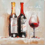 Vin, stilleben Plakat
