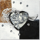 Silvery Wings of Love Posters