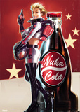 Fallout 4- Nuka Cola Pin Up Reprodukcje