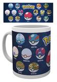 Pokemon - Ball Varieties Mug Mug