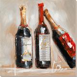 Stillleben mit Wein Kunstdrucke