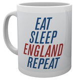 England - Eat Sleep England Repeat Mug Krus