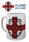 England - 3 Lions Mug Mug