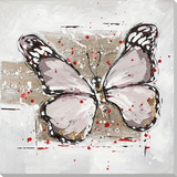 Winged Beauty in Mocha Affiches