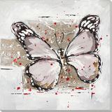 Winged Beauty in Mocha Kunstdrucke