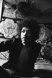 Jimi Hendrix Stretched Canvas Print