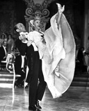 Fred Astaire and Ginger Rogers Dancing in Black Tuxedo and White Dress Photo by  Movie Star News