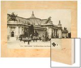 Grand Palais Wood Print