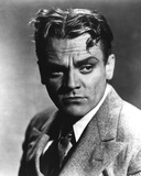 James Cagney Portrait in Grey Linen Suit and Black Silk Necktie Photo by  Movie Star News