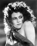 Sigourney Weaver wearing a Single Shoulder Dress in a Portrait Photo by  Movie Star News