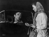 James Dean Scene from a Film Drove on a Black Car in Black Velvet Jacket Photo by Floyd Mccarty