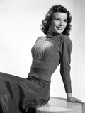 Nanette Fabray on Knitted Long Sleeve Top Reclining Portrait Photo by  Movie Star News