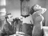 Suddenly Last Summer Couple Arguing Scene Excerpt from Film in Black and White Photo by  Movie Star News
