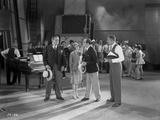 Al Jolson Discussing in a Group Inside the Studio in a Classic Movie Scene Photo by  Movie Star News
