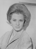 Angie Dickinson Looking at the Camera wearing a Suit in Classic Close Up Portrait Photo by  Movie Star News