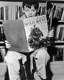 Leave It To Beaver Movie with Boy Reading a Children's Book in Classic Portrait Photo by  Movie Star News
